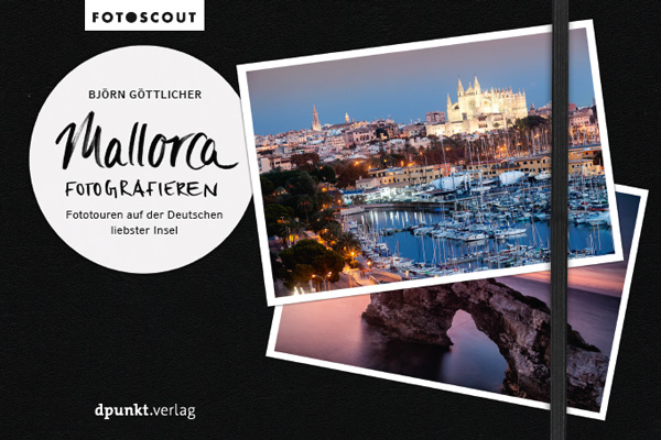 Veroeffentlichung 2021 im dpunkt Verlag - Mallorca Fotografieren