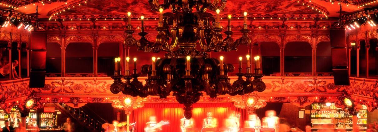 Konzert im La Paloma Tanzsaal